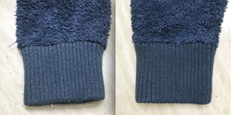 This fabric shaver completely revived customers' sweaters.