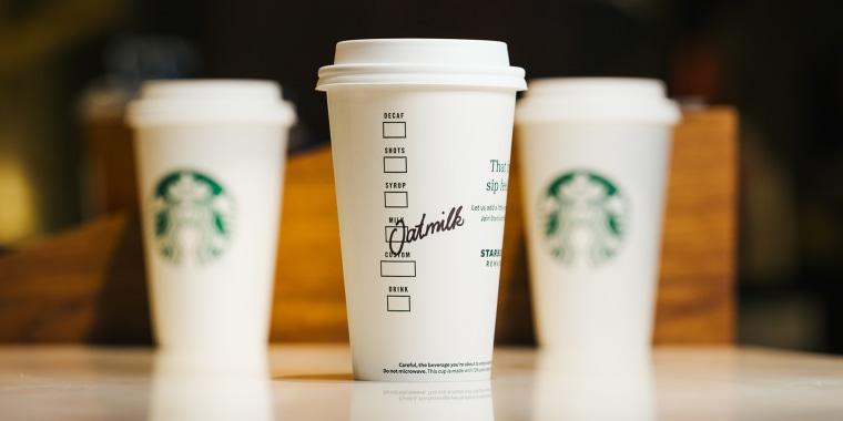 Starbucks is adding three new dairy-free drinks to its menu.