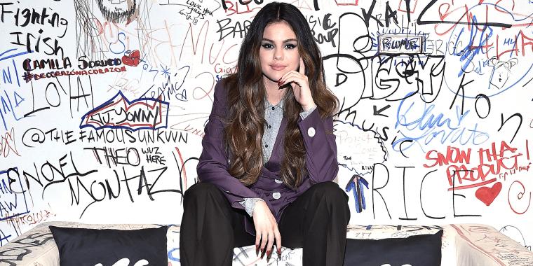 Selena Gomez Visits Music Choice