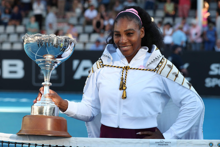 Serena Williams Wins Her 1st Title Since Becoming A Mom