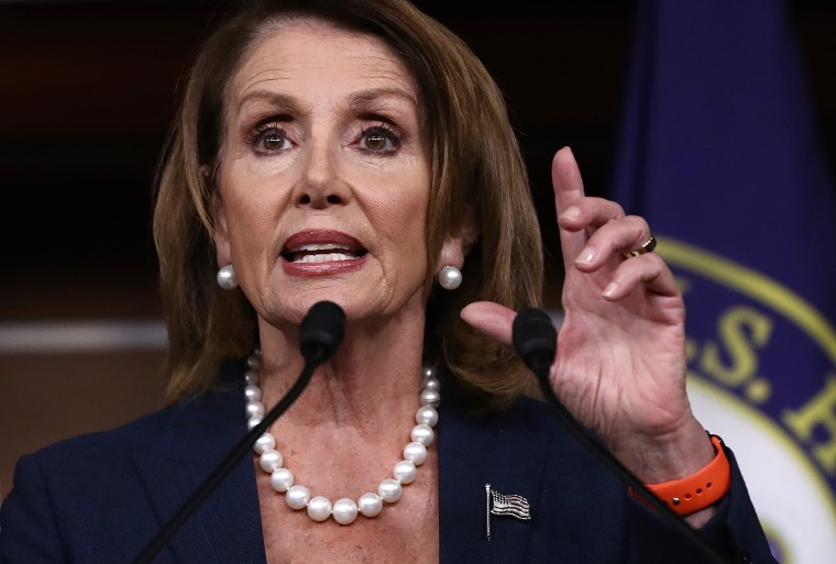 Image: Nancy Pelosi Holds Weekly News Conference