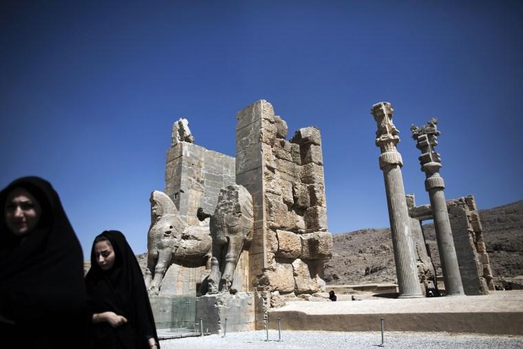 IRAN-HERITAGE-PERSEPOLIS