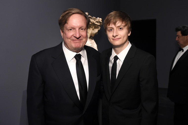 Image: Ron Burkle, Andrew Burkle, LACMA 50th Anniversary Gala Sponsored By Christie's - Inside