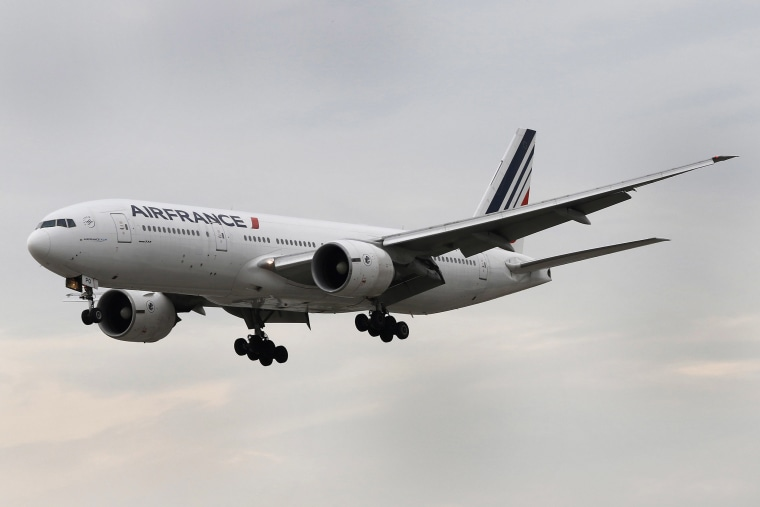 Image: A Boeing 777 jetliner, belonging to Air France Sept. 10, 2019.