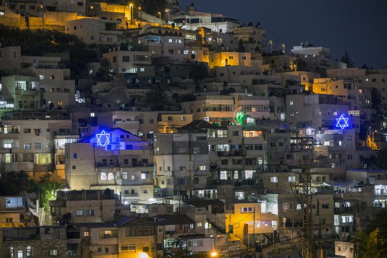 Image: Silwan, East Jerusalem.