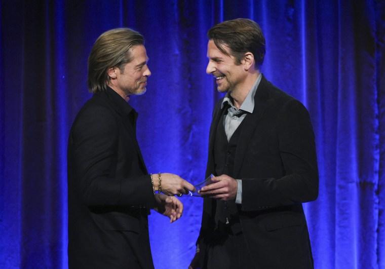 Image: Brad Pitt, Bradley Cooper