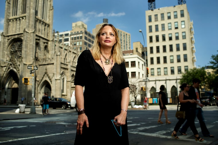 Image: Elizabeth Wurtzel in New York in 2015.