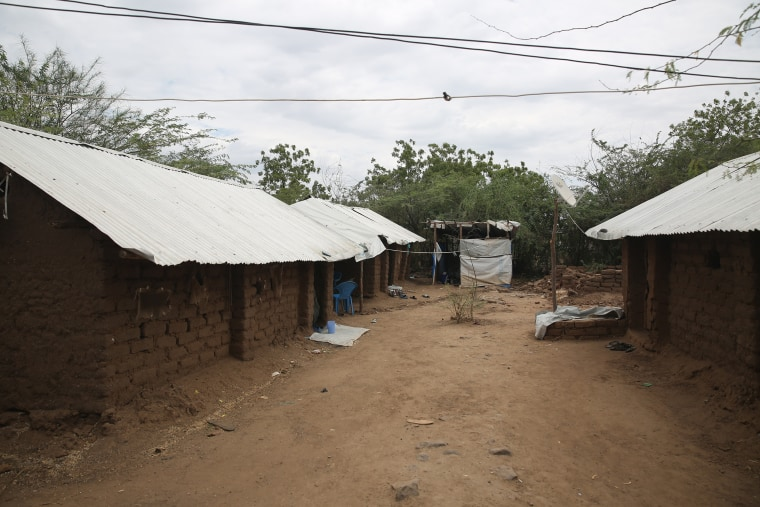 Image: A protected section of Kakuma refugee camp in northwest
