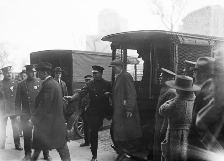 Reds and Bolsheviks Pending Deportation