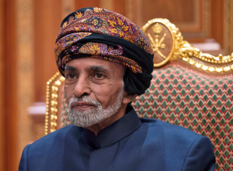 Sultan Qaboos bin Said, who modernized Oman, dies at 79
