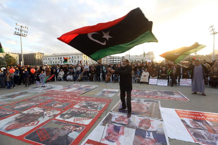 Image: LIBYA-CONFLICT