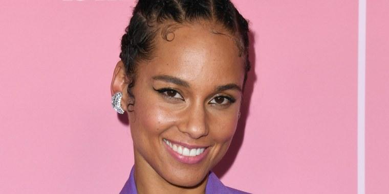 Alicia Keys braids