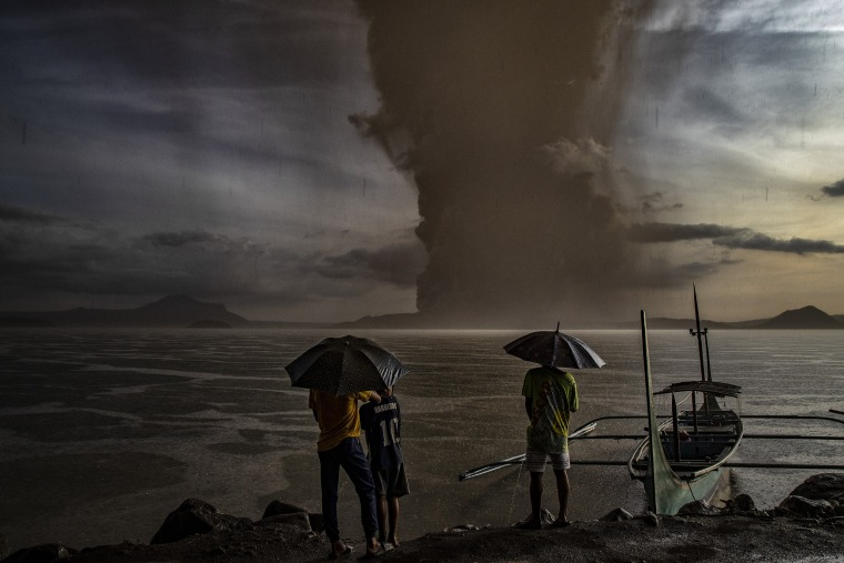 Taal Volcano Erupts In The Philippines