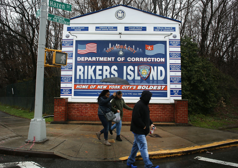 Image: City Panel Likely To Recommend Closing New York City's Infamous Rikers Island Prison