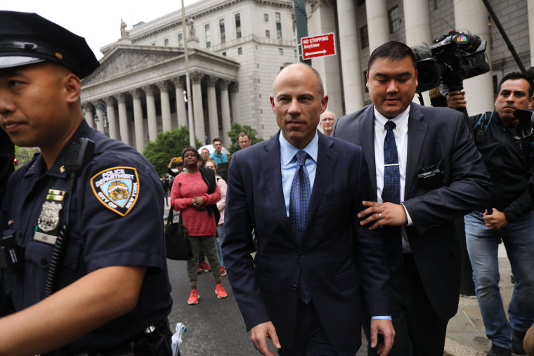 Image: Michael Avenatti Attends Court Hearings On Fraud, Extortion And Theft Charges