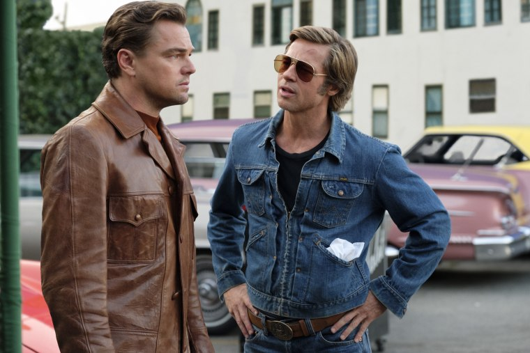"""Leonardo DiCaprio and Brad Pitt star in \""""Once Upon a Time in Hollywood.\"""""""