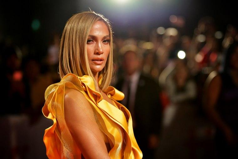 "Image: Jennifer Lopez attends the premiere for \""Hustlers\"" at the Toronto International Film Festival on Sept. 7, 2019."