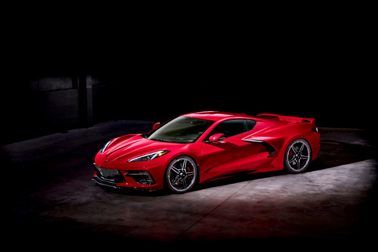 Image: The 2020 Chevrolet Corvette Stingray.