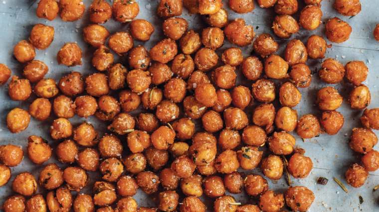 """Recipe developer Ben Mims says \""""crispy chickpeas\"""" recipes never lived up to their promise until he cooked them in the air fryer."""