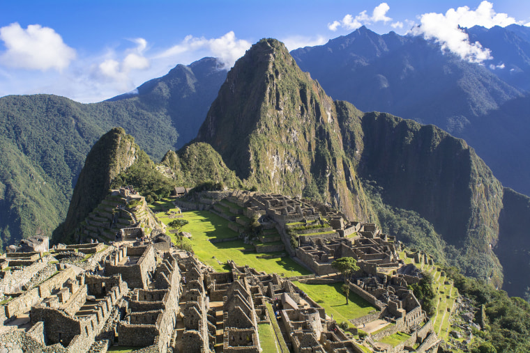 Image: Remains of Machu Picchu in Cusco, Peru.