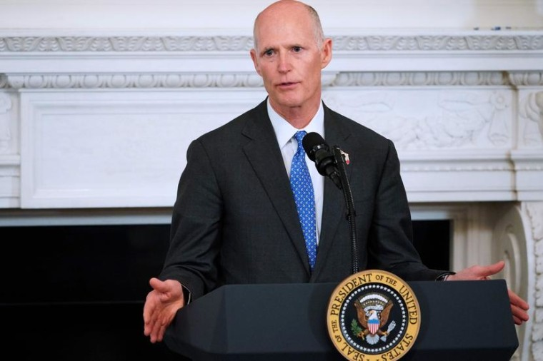 Rick Scott picks the wrong adjective to defend Trump on scandal