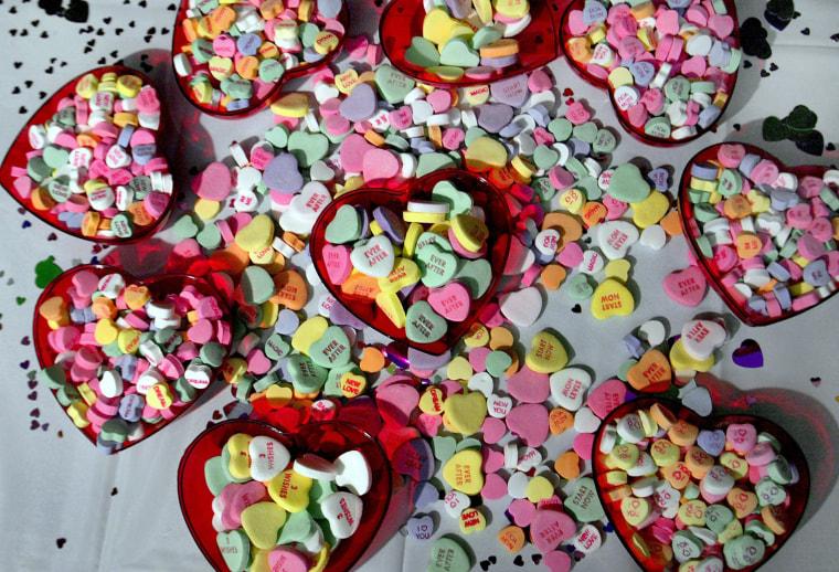 Image: New Necco Candy Hearts