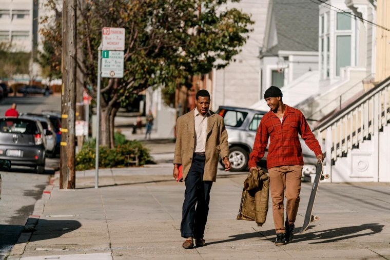 """Image: Jonathan Majors and Jimmie Fails star in """"The Last Black Man in San Francisco."""""""