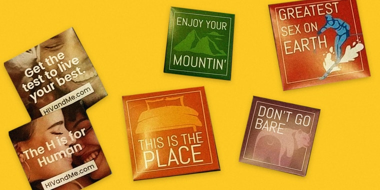 Image: The state of Utah is trying something new to fight HIV infections: handing out condoms with cheeky plays on state pride.