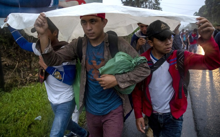 Honduran migrants crossing Guatemala face more obstacles but still hope to get to U.S.