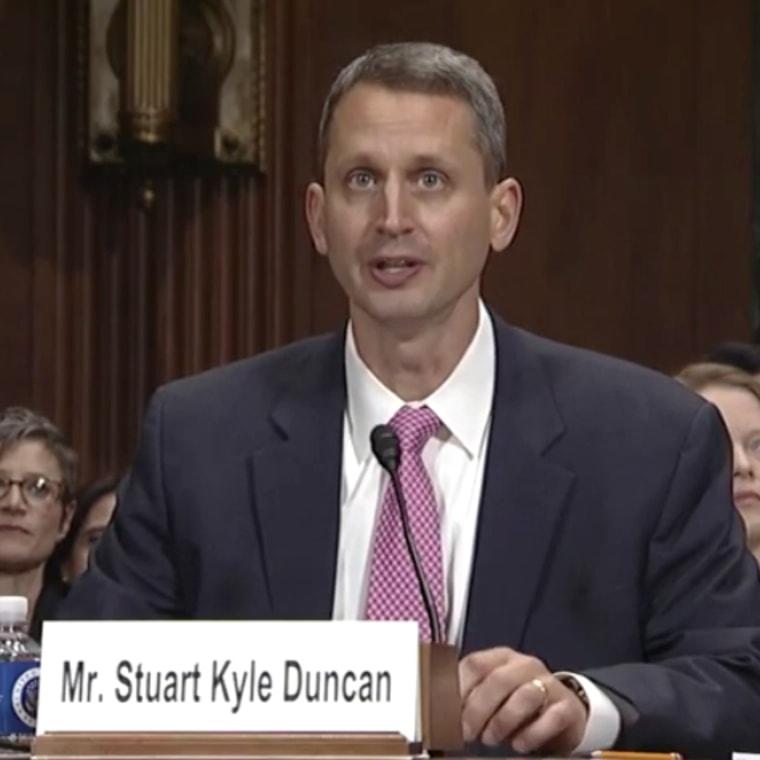 Image: Judge Stuart Kyle Duncan