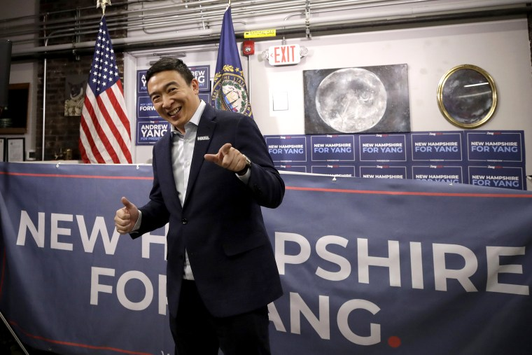 'A Yang problem': How Yang could pull critical support from Sanders in New Hampshire