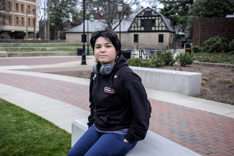 """All my friends are trying to convince me not to attend,"" Virginia Commonwealth University student Francisca Benavides said."