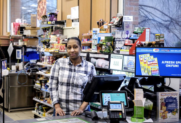 Quisha Jefferson manages a 7-Eleven convenience store that's usually open round-the-clock, but she plans to shut it down Sunday night and reopen Monday when calm returns.