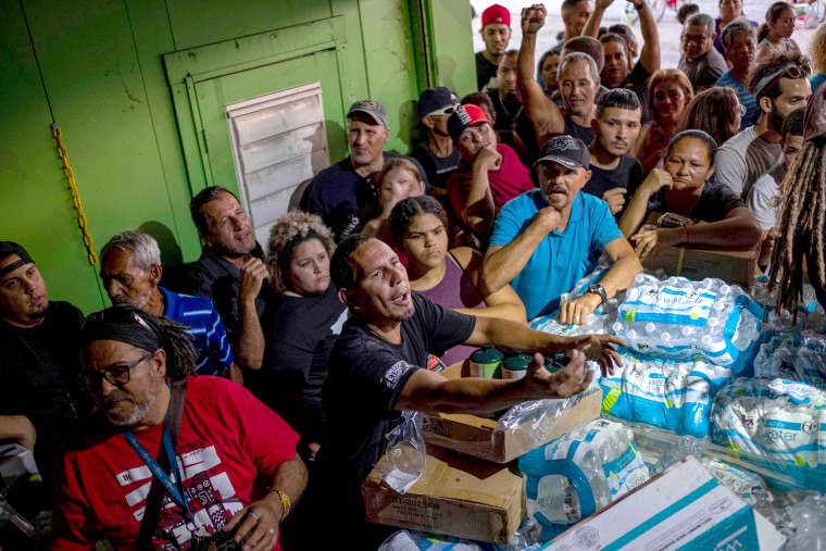 Puerto Rico residents outraged after discovering warehouse full of unused aid from Hurricane Maria