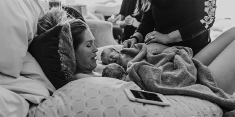 'Ready for some smiles?' Morgan Miller shares cute video of 2-month-old sons