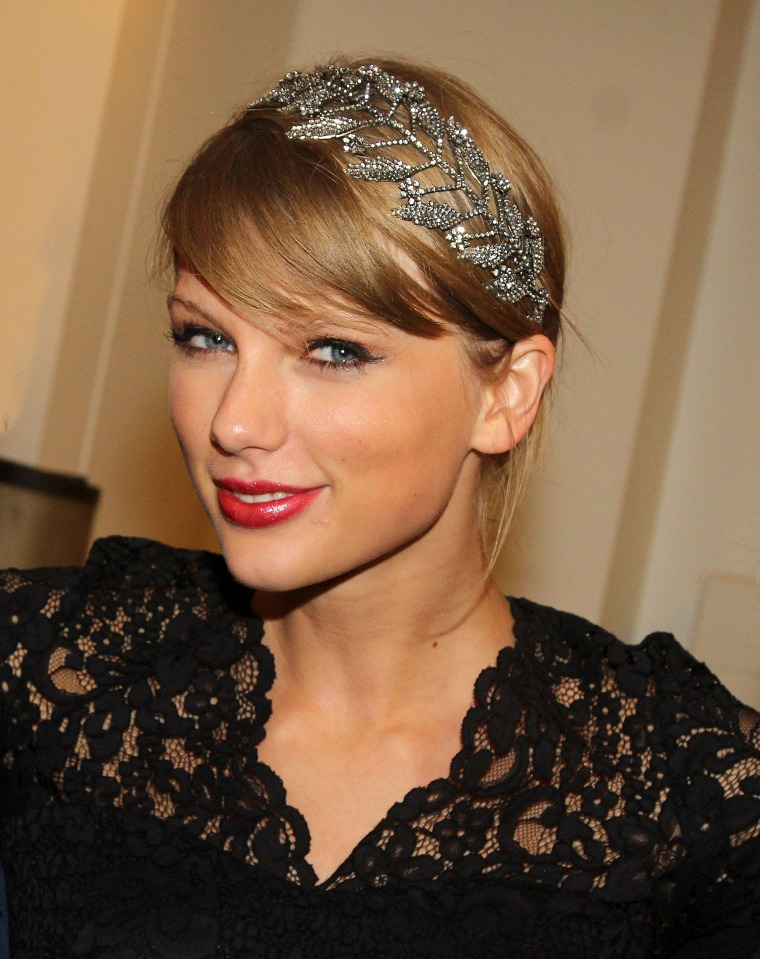 Cheveux Taylor Swift