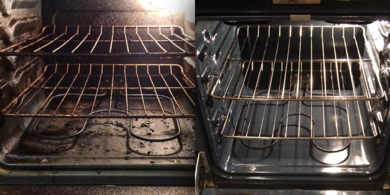 This foam cleaner will make your oven look brand new