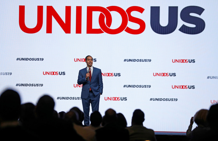Image: Democratic 2020 presidential candidates speak at the UnidosUS Annual Conference in San Diego