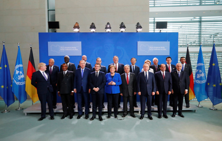 Image: Libya summit in Berlin