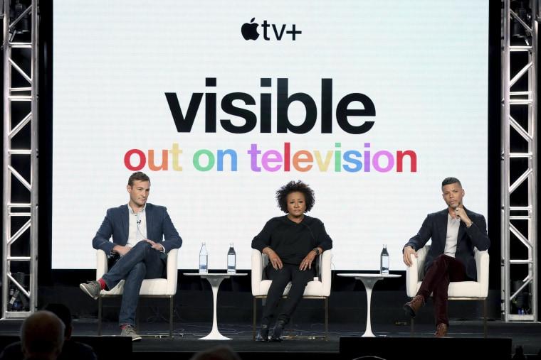 Image: Ryan White, Wanda Sykes, Wilson Cruz
