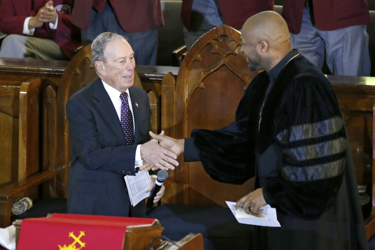 Image: Michael Bloomberg, Robert Turner