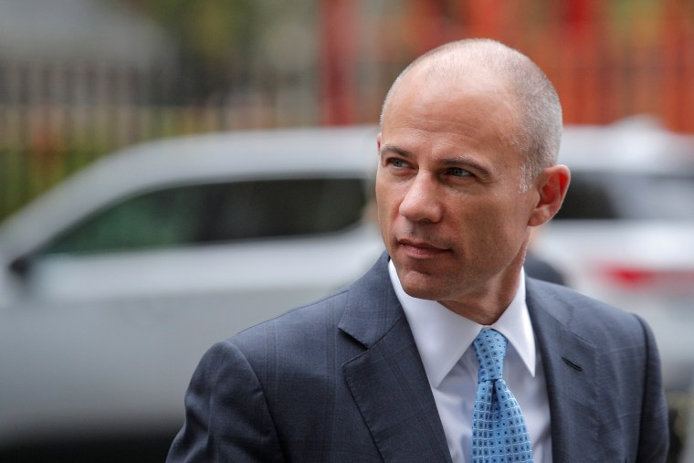 Image: Attorney Michael Avenatti arrives at the  United States Courthouse in the Manhattan borough of New York