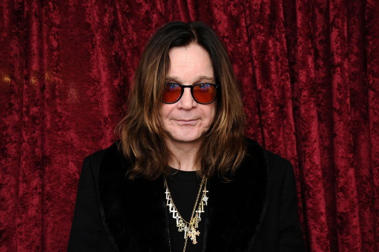 Image: Ozzy Osbourne visits the SiriusXM Studios in New York City.