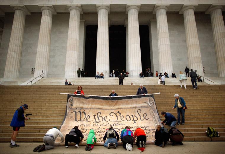 Image: Activists Protest Supreme Court Decision On Corporate Political Spending