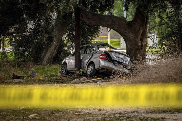 Man allegedly rammed boys' car in crash that killed 3 after doorbell prank