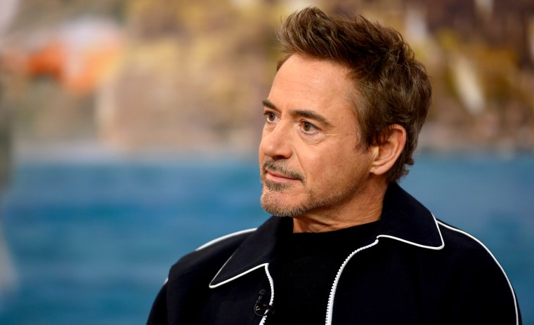 Image: Robert Downey Jr. on the TODAY Show in New York on Jan. 15, 2020.