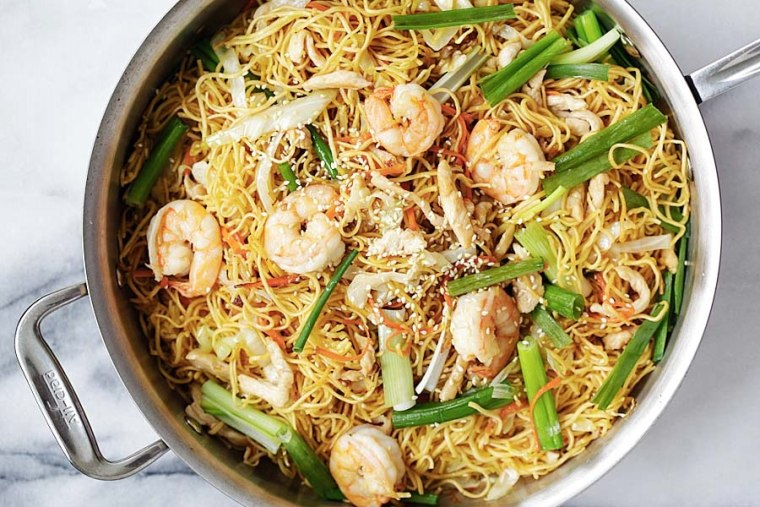 For the most authentic chow mein, cookbook author Bee Yinn Low recommends thin, fresh egg noodles.