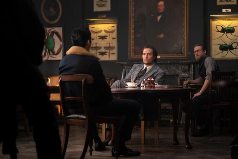 "Image: Matthew McConaughey stars in ""The Gentlemen."""