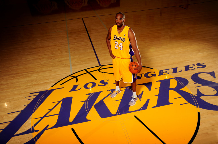 Image: Kobe Bryant of the Los Angeles Lakers poses for a photo at the Toyota Sports Center in El Segundo, Calif., on Dec. 11, 2011.