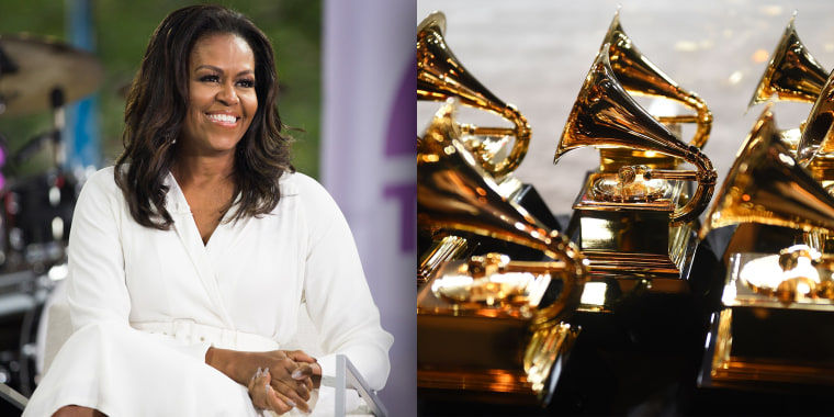Congratulations to Grammy winner Michelle Obama!